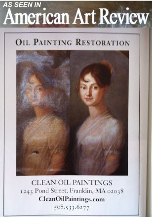 Oil Painting Restoration Ad